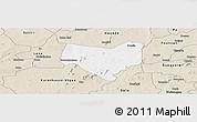 Classic Style Panoramic Map of Koumbia