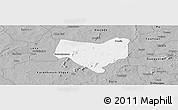 Gray Panoramic Map of Koumbia