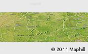 Satellite Panoramic Map of Koumbia