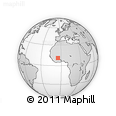 Outline Map of Kourignon