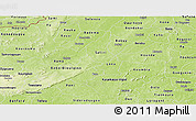 Physical Panoramic Map of Houet