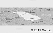 Gray Panoramic Map of Peni