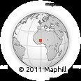 Outline Map of Kadiogo