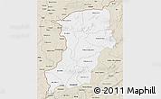 Classic Style 3D Map of Kenedougou