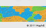 Political Panoramic Map of Koloko