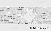 Silver Style Panoramic Map of Koloko