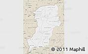 Classic Style Map of Kenedougou