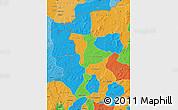 Political Map of Kenedougou