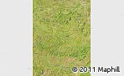 Satellite Map of Kenedougou