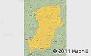 Savanna Style Map of Kenedougou