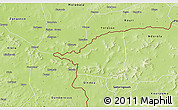 Physical 3D Map of Morolaba