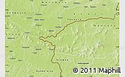 Physical Map of Morolaba