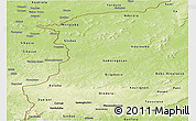 Physical Panoramic Map of Kenedougou