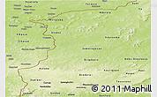 Physical Panoramic Map of Kenedougou