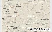 Shaded Relief Panoramic Map of Kenedougou