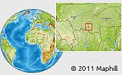 Physical Location Map of Samoghohiri