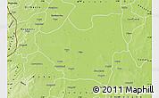 Physical Map of Nouna