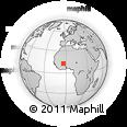 Outline Map of Nouna