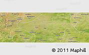 Satellite Panoramic Map of Nouna