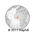 Outline Map of Andemtenga