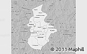 Gray Map of Kouritenga