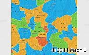Political Map of Kouritenga