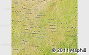 Satellite Map of Kouritenga