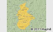 Savanna Style Map of Kouritenga
