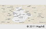Classic Style Panoramic Map of Kouritenga