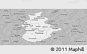 Gray Panoramic Map of Kouritenga
