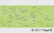 Physical Panoramic Map of Kouritenga