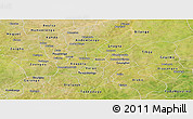 Satellite Panoramic Map of Kouritenga