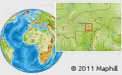 Physical Location Map of Tensobtenga