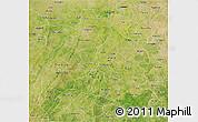 Satellite 3D Map of Mou Houn