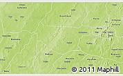 Physical 3D Map of Bondokui