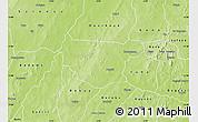 Physical Map of Bondokui