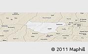 Classic Style Panoramic Map of Bondokui