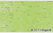 Physical 3D Map of Boromo