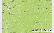 Physical Map of Boromo