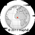 Outline Map of Boromo