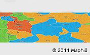 Political Panoramic Map of Boromo