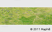 Satellite Panoramic Map of Boromo