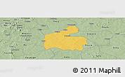 Savanna Style Panoramic Map of Boromo