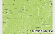 Physical Map of Dedougou