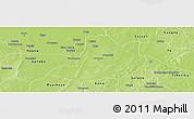 Physical Panoramic Map of Dedougou