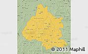 Savanna Style Map of Mou Houn