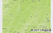 Physical Map of Ouarkoye