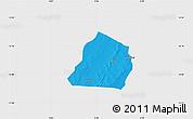 Political Map of Ouarkoye, single color outside