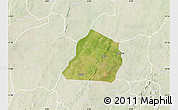 Satellite Map of Ouarkoye, lighten