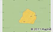 Savanna Style Map of Ouarkoye, single color outside